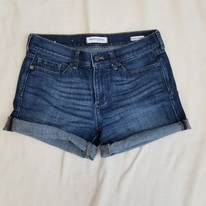 Banana Republic Roll Up Denim Shorts
